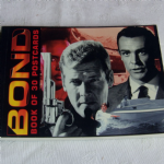Bond book of 30 Postcards 007 Robert Frederick 2004